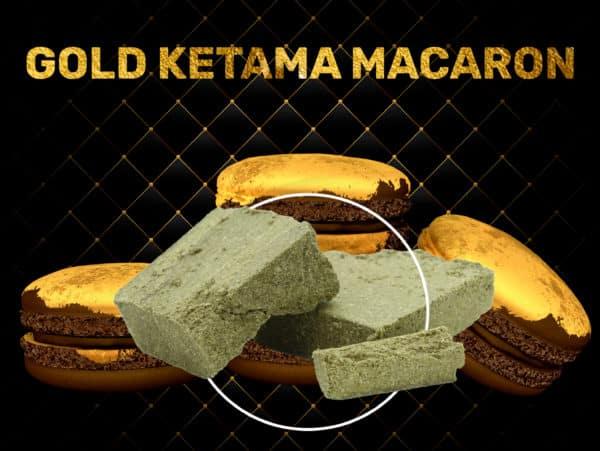 Gold Ketama Macaron