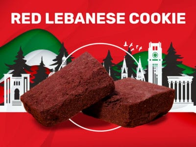 red lebanese cookie weedzy