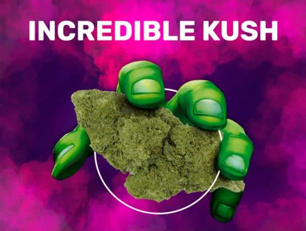 incredible kush weedzy cbd