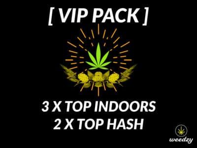 VIP pack cbd weedzy
