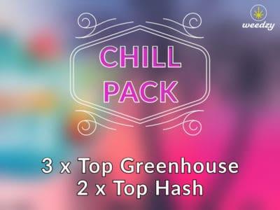 chill pack cbd weedzy